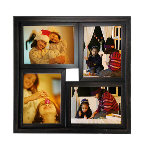 4 Photos 6x8 Square Frame-Collage Frames-Zestpics