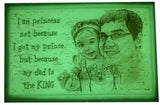 Buy Radium Glow in the Dark Personalized Photo Frames Online| Zestpics