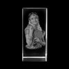 PHOTO CRYSTAL CUBE. Have your favourite photo engraved on a crystal. Transform your favourite family photos from the past and present into 2D & 3D Crystals, etched with a picture perfect laser printed image. Photo Crystal Cube is perfect for displaying a photo and personalizing with the text.
