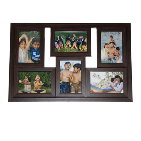 6 Photos 4x6/6x8 Collage Frame-Collage Frames-Zestpics