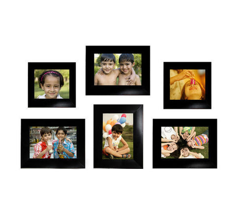 6 Photos Collage Frame, Set of 6 individual photo frames, picture ...
