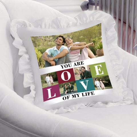 A valentine cushion for your loved ones. Get it personalised by adding pictures or messages and express your feelings in this most unique way. Only at Zestpics. Valentine Gifts Online ❤❤❤– Buy Valentine's Gifts from Giftcart.com gifts for Him & Her, Boyfriend & Girlfriend. Buy top valentine gifts like Cushions at Zestpics