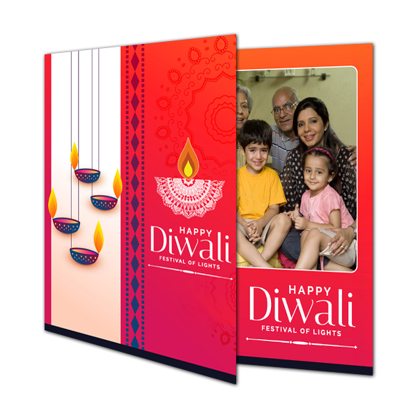 Buy & Send Personalized Diwali Greeting Cards Online in India|Zestpics
