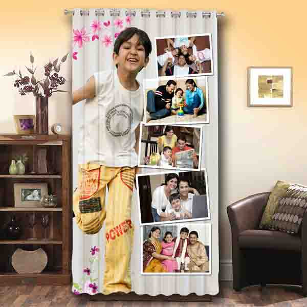 Personalized Photo Curtains, Customized  Curtains, Photo Curtains | Zestpics