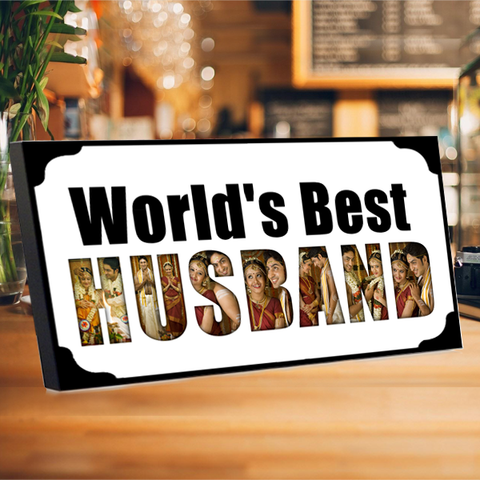 World's Best Husband Photo Frame