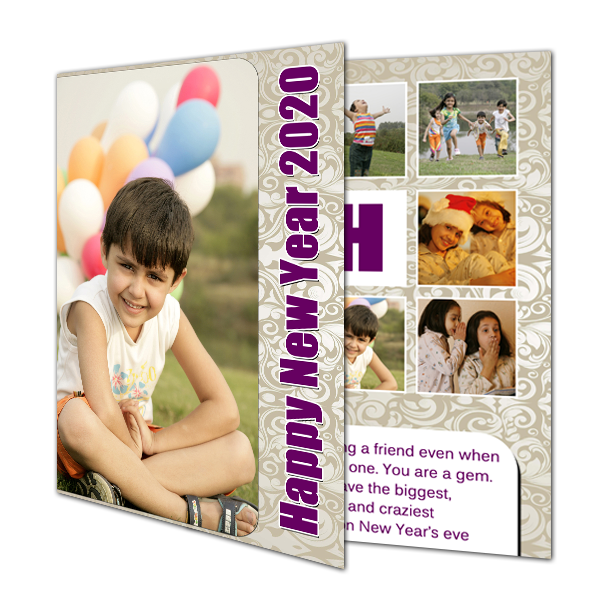 Buy Happy New Year Cards 2020, New Year 2020 Greeting Cards - Zestpics