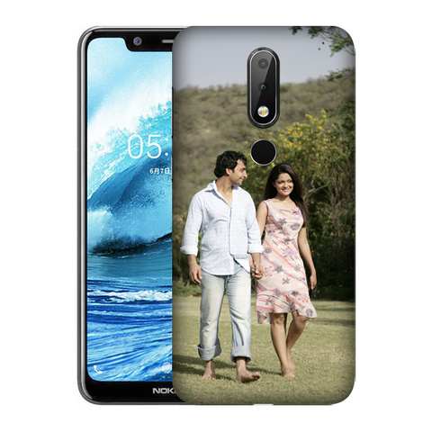Buy Customised Nokia 5.1 Plus (Nokia X5) Mobile Covers/ Cases Online India - Zestpics