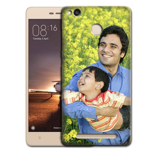 Buy Customised Redmi 3S Prime Mobile Covers/ Cases Online India - Zestpics