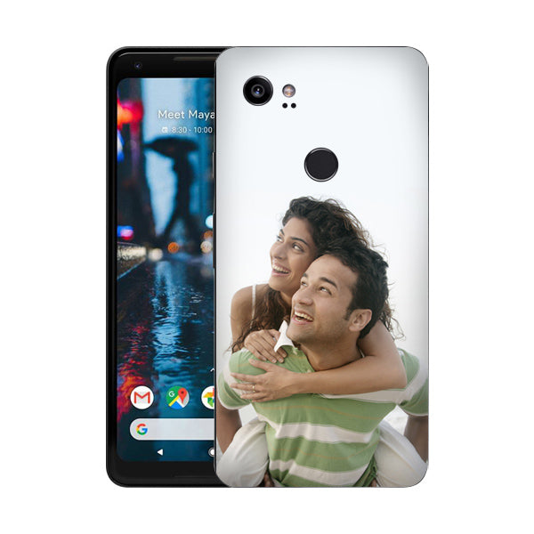 Buy Personalized Google Pixel 2 XL Mobile Back Covers/Cases. Design your own Customized Mobile Case for Google Pixel 2 XL with your own Photos, Text online & Make it Unique. Customize Now! Buy Custom Printed Personalized Mobile Covers/ Skins in India at Zestpics. Mobile Skins, Customized Mobile Phone Skins online in India.