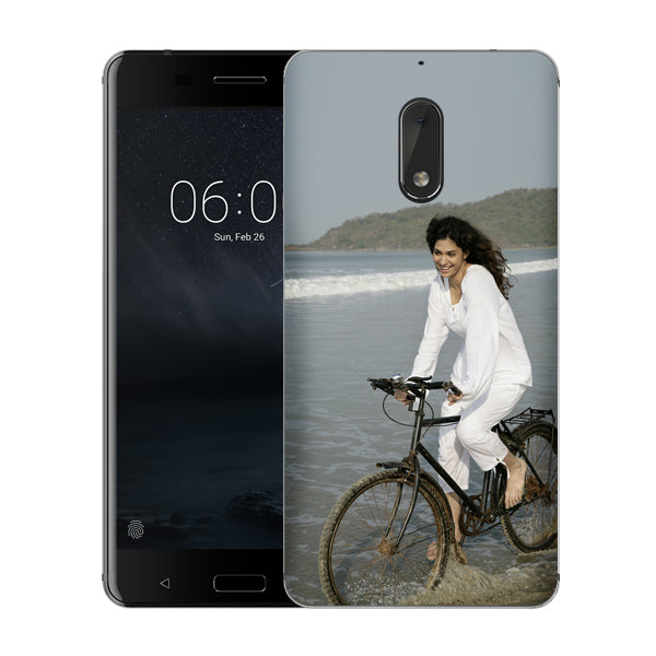 Buy Customised Nokia 6 (2017) Mobile Covers/ Cases Online India - Zestpics
