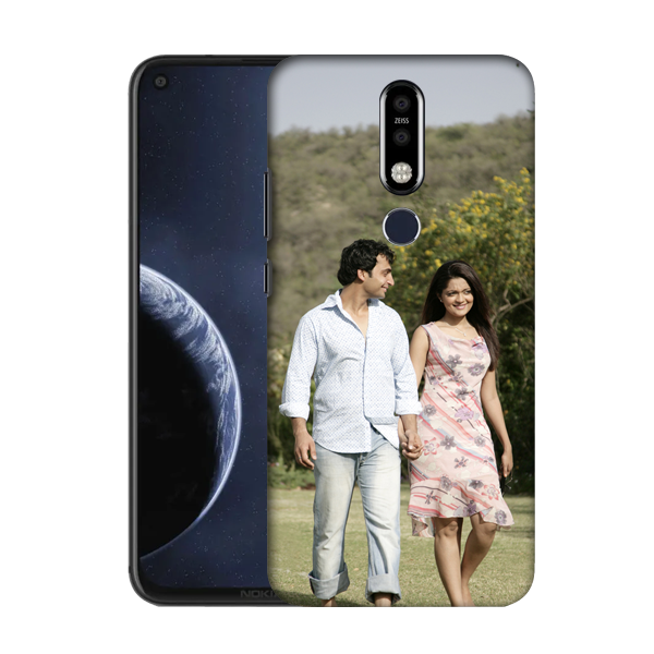 Buy Customised Nokia 8.1 Plus Mobile Covers/ Cases Online India - Zestpics