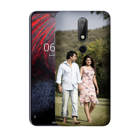 Buy Customised Nokia 6.1 Plus Mobile Covers/ Cases Online India - Zestpics