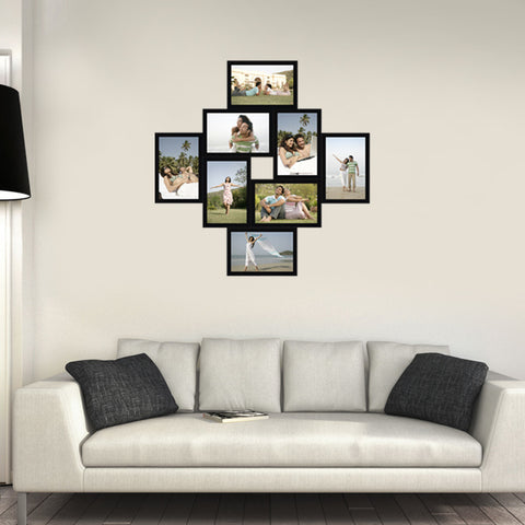 8 Photos 4x6 Collage Frame, 8x1 4x6 Photo Frame, 8 Collage Frame - Zestpics