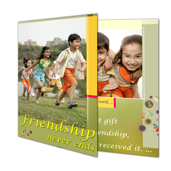 Buy/ Send Personalized Photo Friendship Day Greeting Cards Online|Zestpics