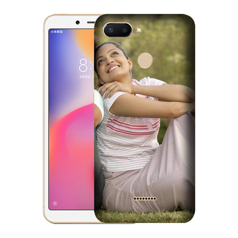 Buy Customised Redmi 6 Mobile Covers/ Cases Online India - Zestpics