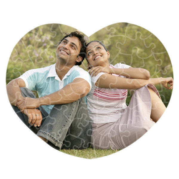 Valentine Gifts, Personalized Photo Puzzle Pad, Custom Puzzle Pad, Jigsaw Printed Puzzle, Zestpics, Hyderabad, India