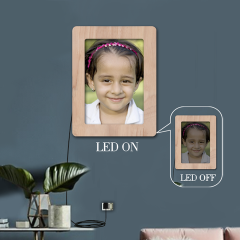 Rectangle LED photo Frame, Digital photo frame, HD photo frame, photo LED