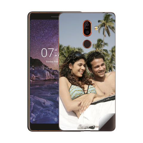 Nokia 7 Plus Mobile Back Covers and Cases Online India - Zestpics