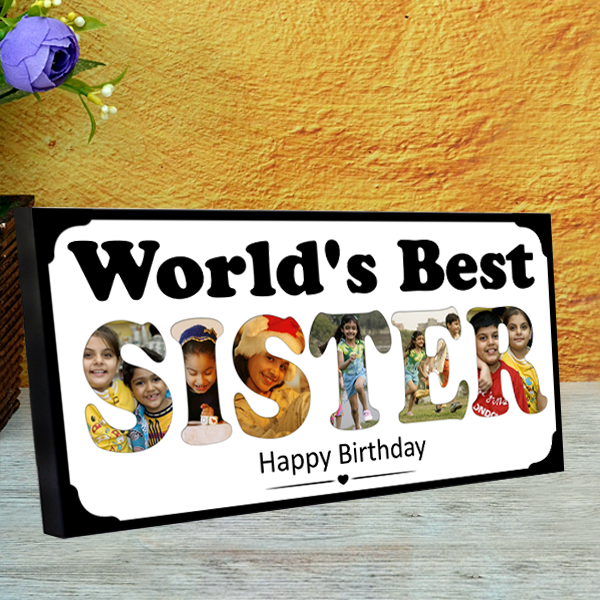 Birthday Gifts for Sister | Gifts for Sister | Sister Birthday Gifts online in India | Zestpics