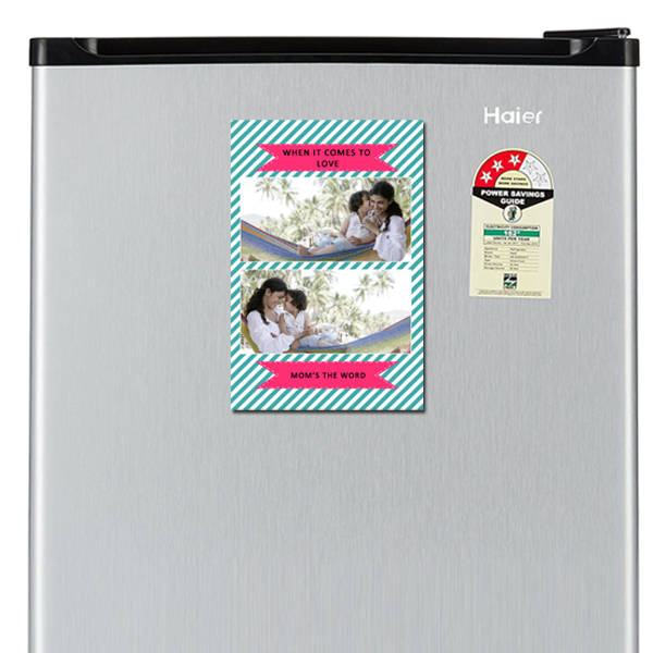 Shop for unique designer fridge magnets for mom this mother's day online in India. Gift your mom a smile every time he opens the refrigerator. Free Delivery.