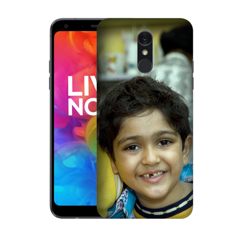Buy Customised Lg Q7 Mobile Covers/ Cases Online India - Zestpics