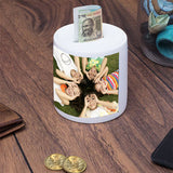 Personalized Photo Piggy Bank, Gifts for Kids, Custom Piggy Bank|Zestpics