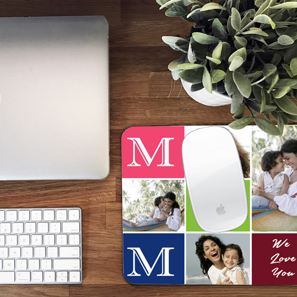 Custom Mousepads - Buy Personalized Mouse Pads with Photo & Text Printing