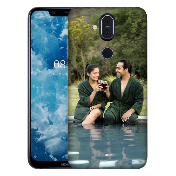Buy Customised Nokia 8.1 Mobile Covers/ Cases Online India - Zestpics