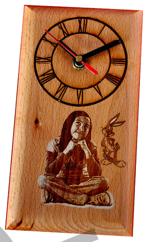 Best Unique Birthday Gifts Online-Wooden Engraving-Zestpics