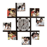 Customized Photo Wall Clocks - Zestpics - Hyderabad
