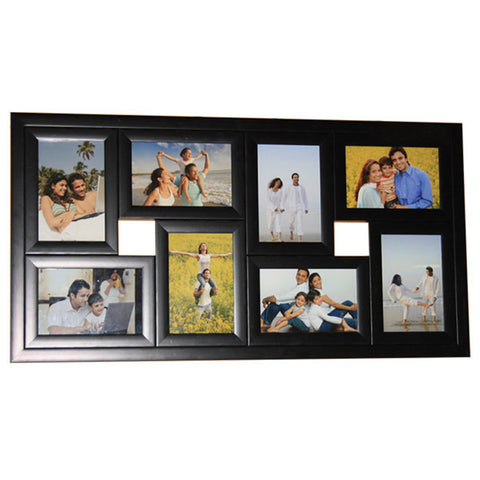 8 Photos 4x6 Rectangle Frame-Collage Frames-Zestpics