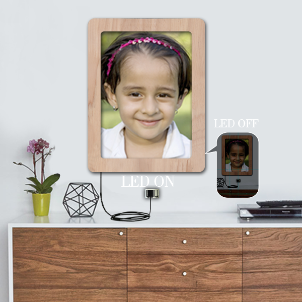 Buy Rectangle LED Photo Frame online at Best Price in India at Zestpics