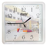 Printing on Branded Ajanta Wall Clocks-Zestpics
