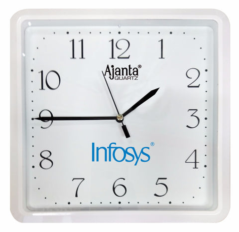 Logo Branding on Ajanta Wall Clocks-Zestpics