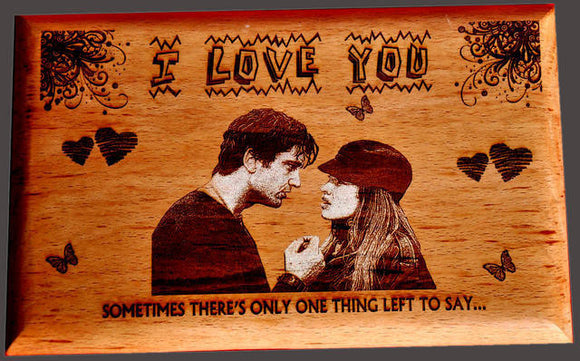 Love Personalised Wooden Plaque at Best Prices in India - Zestpics