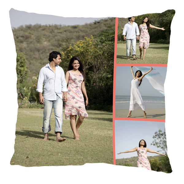 Personalized Full Printed, Double Side Photo Printing on Pillows, Cushions