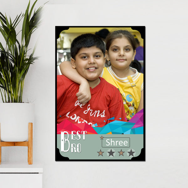 Birthday Gifts for Brother | Best Bro Frame online in India | Zestpics