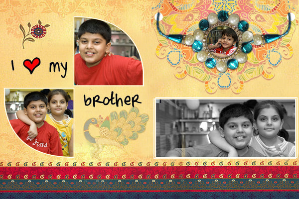 Rakhi Greeting Cards, Send Rakhi Online