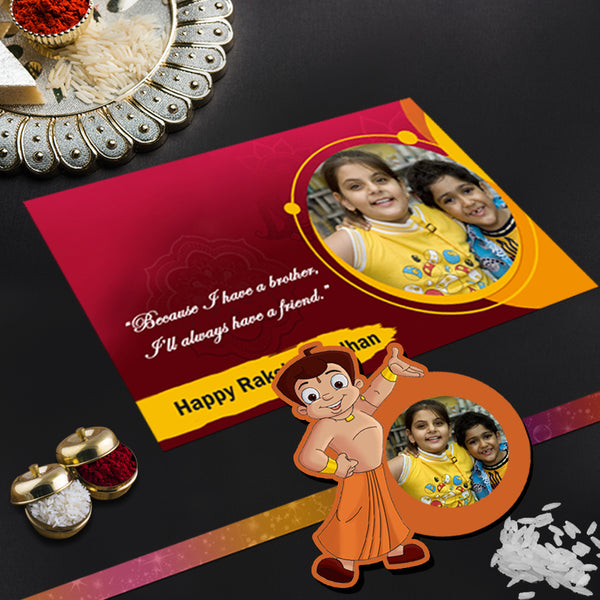 Chhota Bheem Rakhi, Kids Rakhi, Rakhi Cartoon Online India |Zestpics