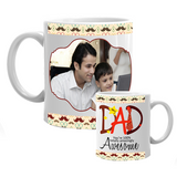 Awesome Dad Mug, Father's Day Mugs, Gifts for Dad, Birthday Gifts for Dad