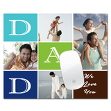 Dad Mouse Pad is a unique gift for dad on his birthday, father's day. Compatible with laptop, desktop, PC. Free delivery at Zestpics. Printed Mousepad for Laptop PC Happy Birthday Papa, Gifts for Dad. Gifts for Father, Printed Happy Birthday Daddy Mouse Pad. Buy & Send Father's Day Gifts Online to India from Zestpics.