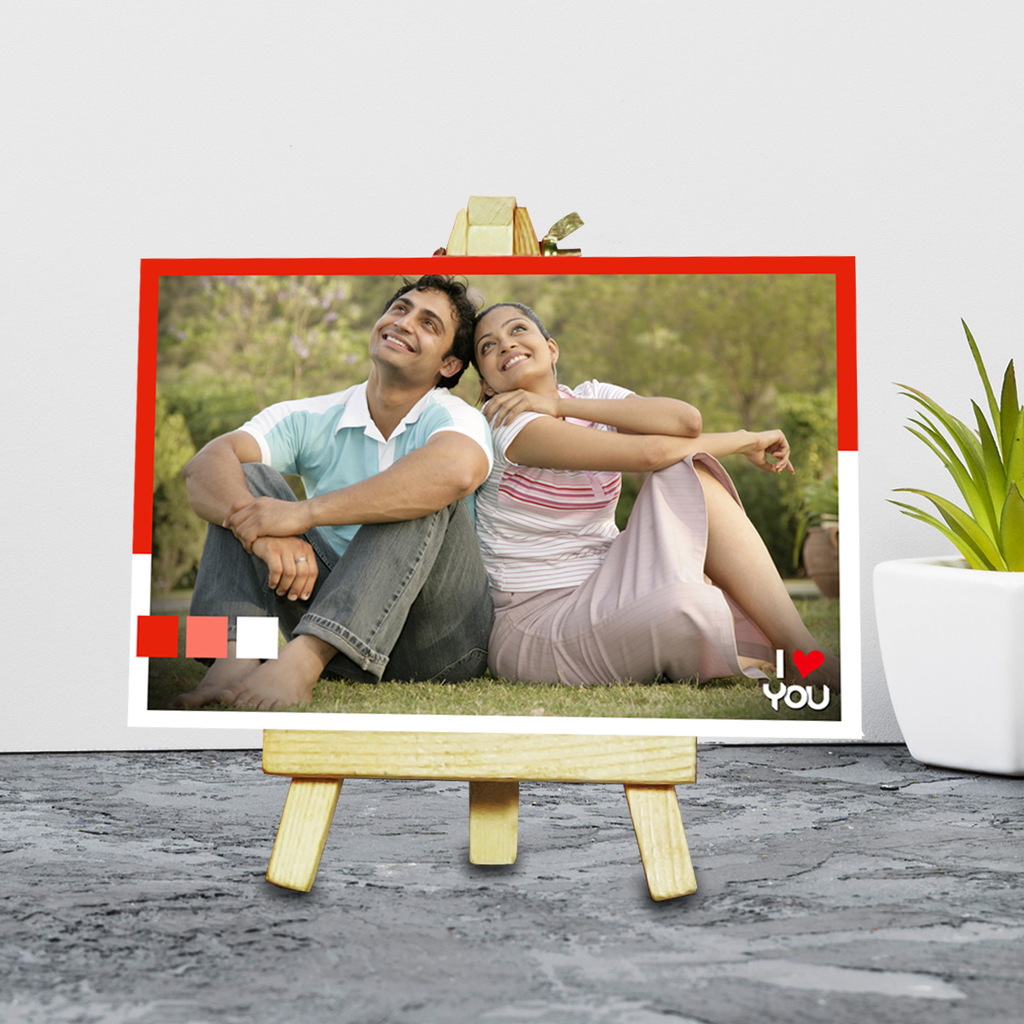 Easel Photo Stand, Print Your Instagram Hashtag Photos online at Zestpics