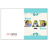 Birthday Card for Father, Father's Day Card Ideas, Happy Father's Day Message, Father's Day Greetings, Father's Day Wishes from Daughter. Buy Online at Zestpics & Send Father's Day Greeting Cards to India