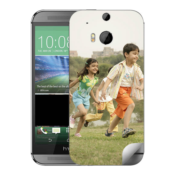 Buy Customized HTC One M8 Back Covers Online in India | Zestpics