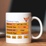 Buy Premium Quality Custom IPL Mug online in India at Zestpics. Get a customized Sunrises Hyderabad IPL Mug with photo, your favorite team, favourite color, favourite player, birthplace, loves to eat, favourite game, etc., #ipltshirts #sunrisedhyderabadtshirt #SunRisersHyderabad #OrangeArmy #Hyderabad #VIVOIPL2019 #IPL #IPL2019 #VIVOIPL #SRH