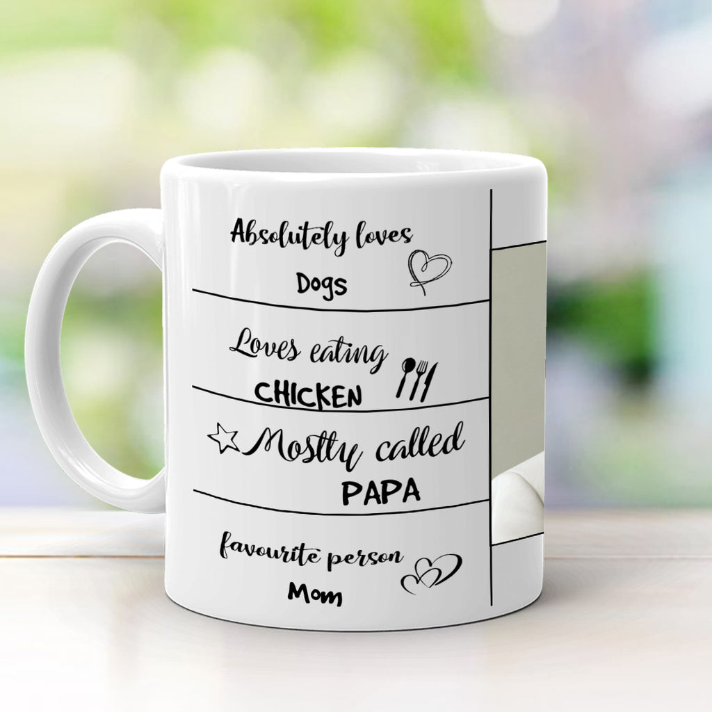 Buy Best Birthday Gifts for DAD | All About DAD Mug Online | Zestpics