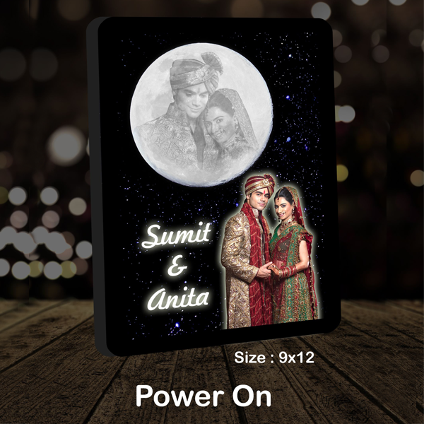 Magic LED Moon | Karva Chauth Gifts - Buy/Send Karva Chauth Gifts Online India