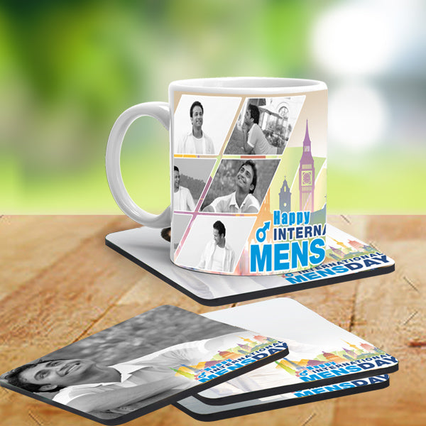 Men's Day Coasters, Best Men's Day Gifts, International Men's Day Gifts