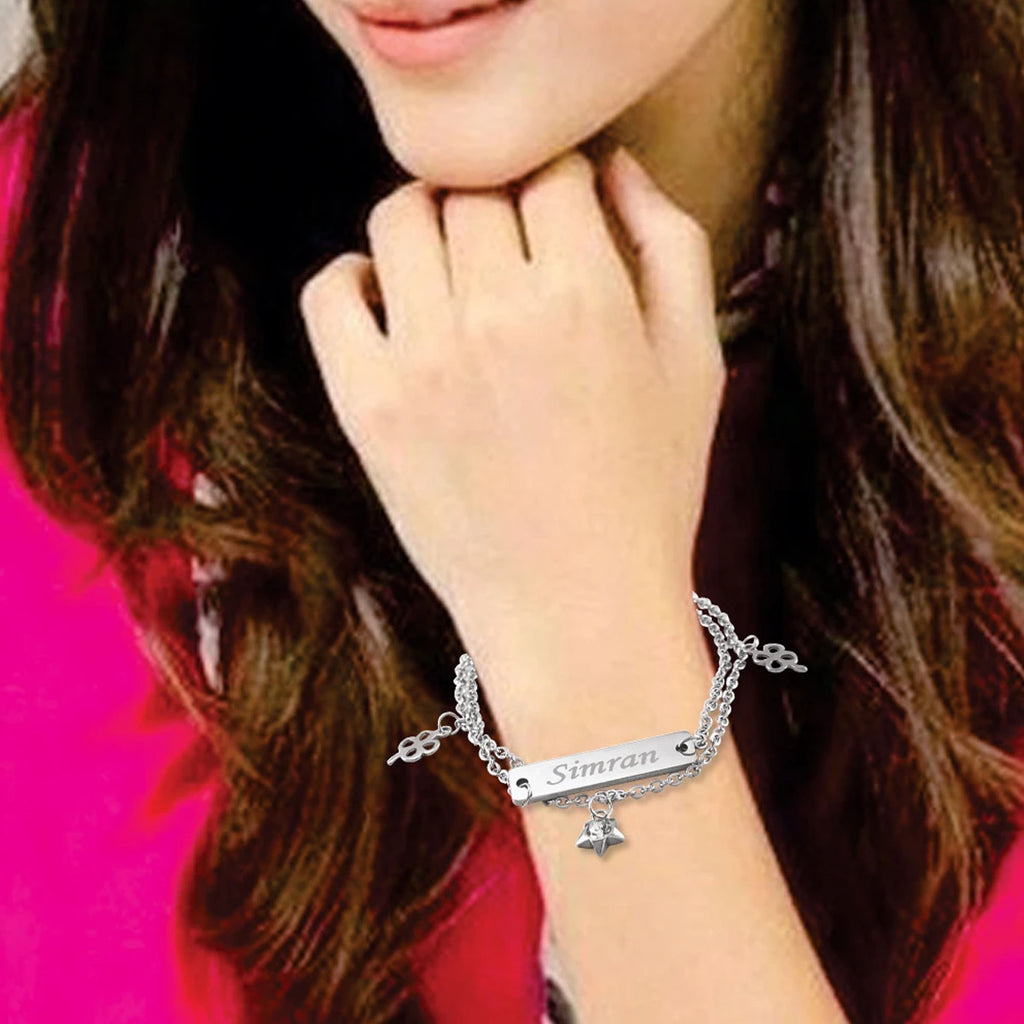 Personalized Bracelets for Her | Customized Jewellery online in India