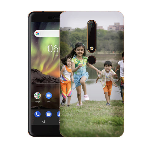 Buy Customised Nokia 6.1 (2018) Mobile Covers/ Cases Online India - Zestpics